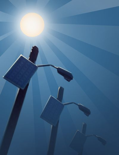 The Dollars and Sense of Solar Powered Security Lights