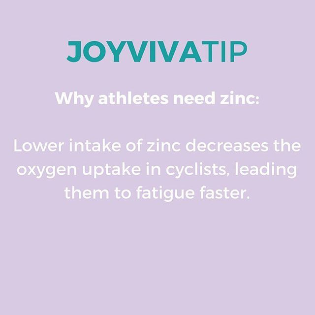 Why zinc? Recent research by the United States department of agriculture found that a lower intake of zinc decreases the oxygen uptake in cyclists, leading them to fatigue faster. 🔸 Shop zinc supplement with link in bio. #zinc #athlete