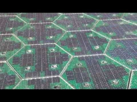 Solar Roadways - Solar panels that you can drive, park, and walk on. They melt snow and... cut greenhouse gases by 75-percent?!!!