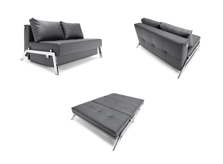 Leather Sectional Sofa The Cubed sofa from Innovation Living USA is an extremely modern space saving design sohomod