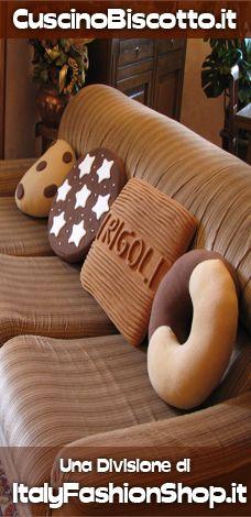 CuscinoBiscotto.it - Il cuscino a forma di biscotto - Quello Originale - Home Page Italiano