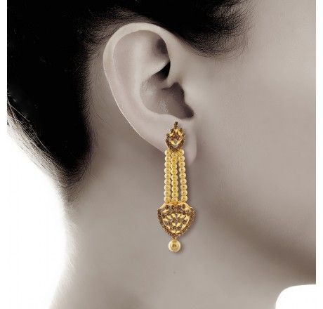 jhumkhas earrings