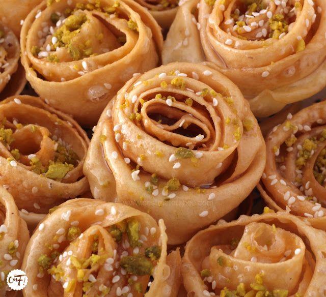 Gateaux tunisien for Cuisine orientale