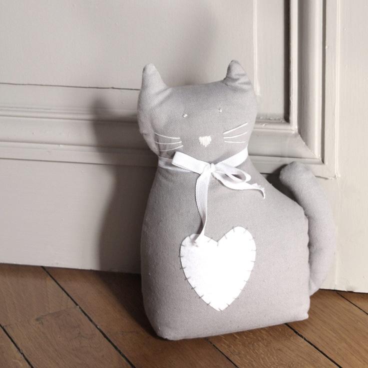 cale porte chat gris Maisons du monde