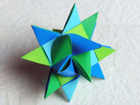 Froebel Star by MadRianOrigami on Etsy