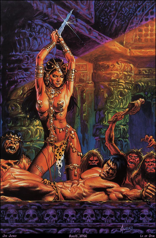 conan the barbarian women art porn