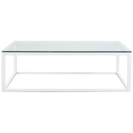 CBD Coffee Table 120x65cm. Freedom FurnitureBrushed NickelCoffee ...