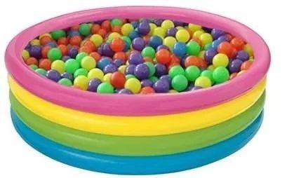 piscina de pelotas intex 168cm , incluye 200 pelotas piscina