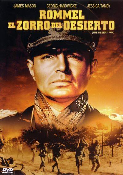 Rommel, el zorro del desierto (1951) EEUU. Dir: Henry Hathaway. Drama. Bélico. Acción. Biográfico. II Guerra Mundial - DVD CINE 1329
