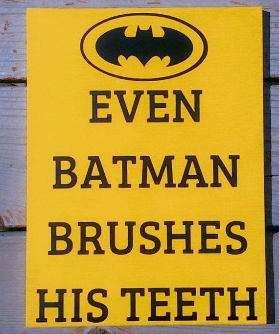 Superhero Bathroom Signs Bathroom Decor Set of by WordArtTreasures. 42 best Batman bathroom  images on Pinterest   Batman bathroom
