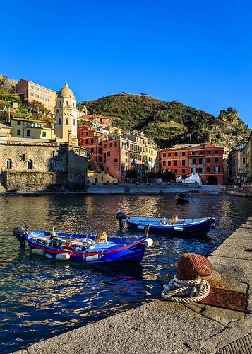 Italian winter, Vernazza, Liguria