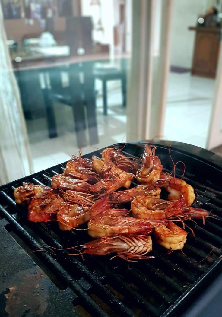 """""""Prawn On The Grill"""", Tjitra's Kitchen, Jakarta"""