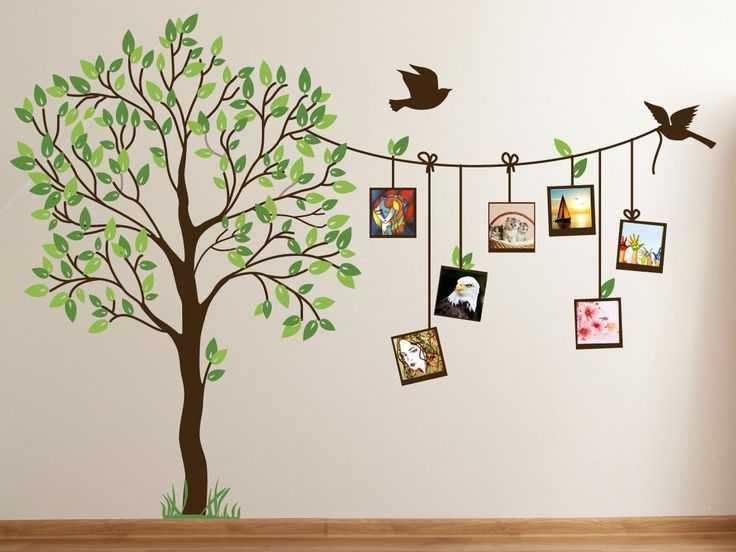 Baby Room Tree Sticker Outline