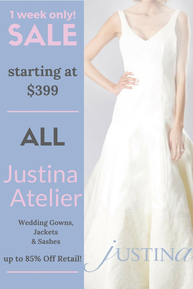 171 best Justina Atelier Wedding Dresses at YourDreamDress.com ...