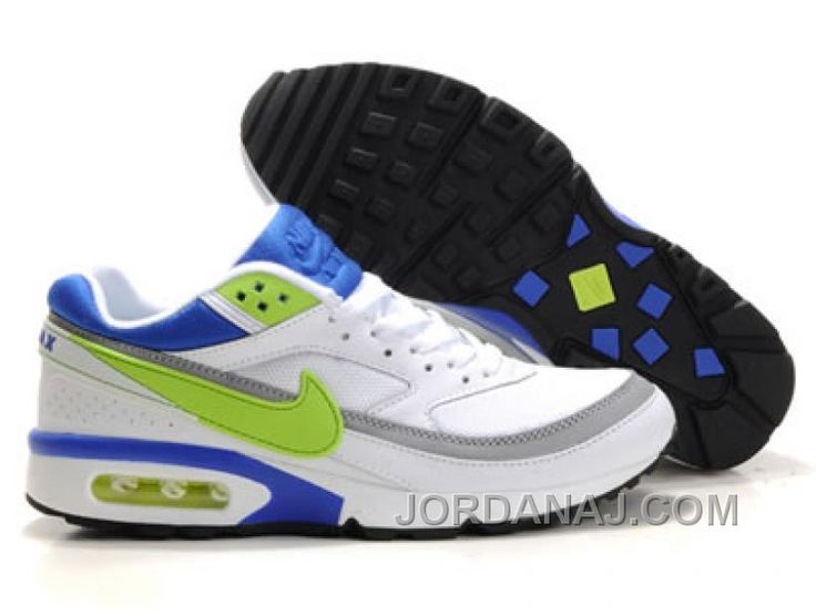 mens nike air max bw green yellow