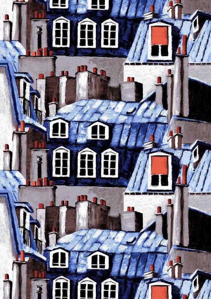 Vallila Interior AW14, Montmartre blue by Riina Kuikka