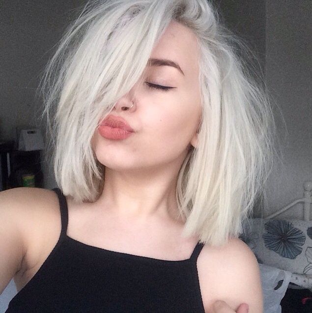 emo hair styles for men best 25 white hair ideas on white 6042 | beda85b6042b6de43f7920b73d85fe04 short white hair short hair blonde straight