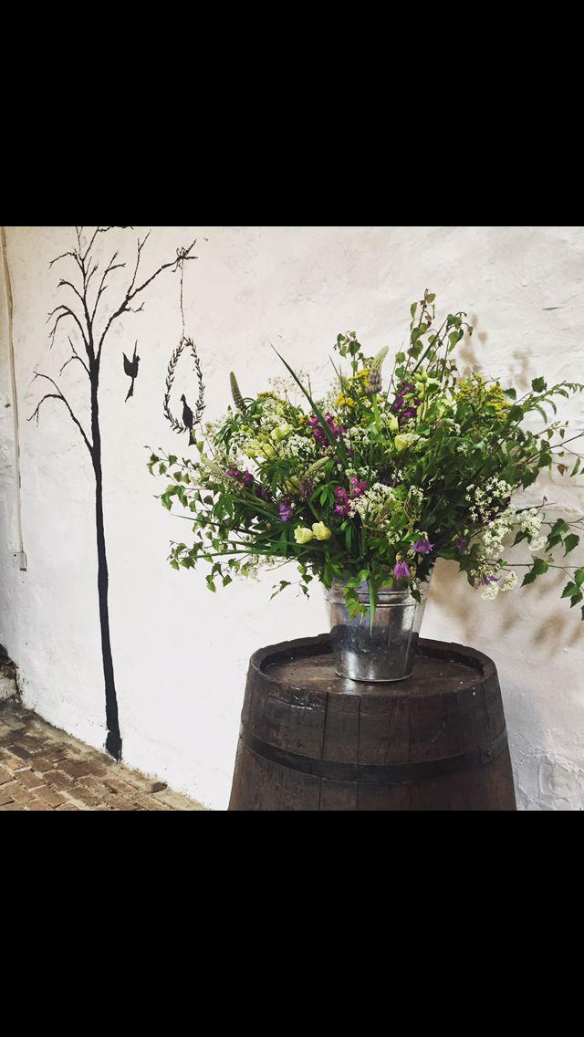Wedding open week, June 2015. Flowers by Wild Gorse.
