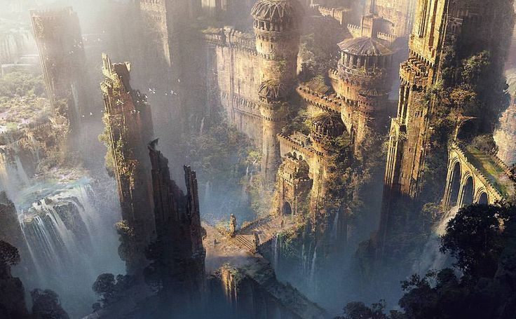 Haunted and forsaken city, Orrinthal. The ancient mighty city and fortress was build above Cherun river, high in the mountains. City became autonomic and was powerfull enough to be neutral, but tyranny of City Lords, dynasty of Algaesians began the revolution night. During the night sorceres,