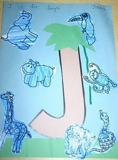 J is for Jungle activity and song ideas