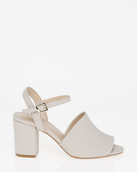 Open Toe Sandal - Stand out with a fashionable, open toe sandal lifted by a chic block heel.