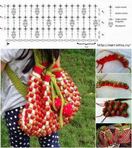 Handmade Kids Bags (73) - Knitting, Crochet, Dıy, Craft, Free Patterns