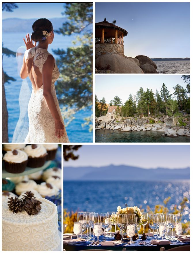 Thunderbird Lodge: Lakeside Wedding Hideaway in Lake Tahoe shot by @Catherine Hall Studios; http://www.idovenues.com/wedding-venues/thunderbird-lodge-lakeside-wedding-hideaway/