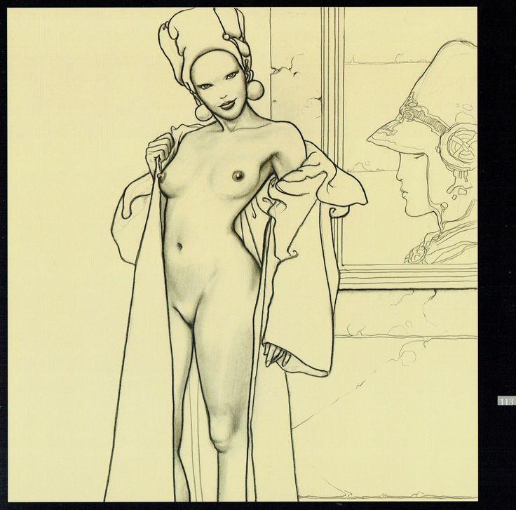Milo Manara - Veneri di Milo, 113-Hommage a Moebius