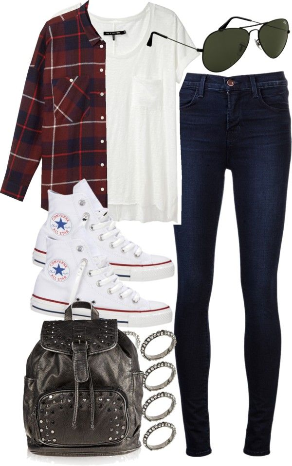 ?I really dig this outfit. Not so much w the back pack. I would pair it up w low top chucks tho.