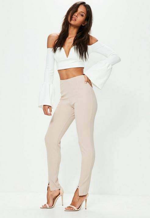 Tall Nude Skinny Fit Pants | Sexy girls in 2019 | Clothing ...