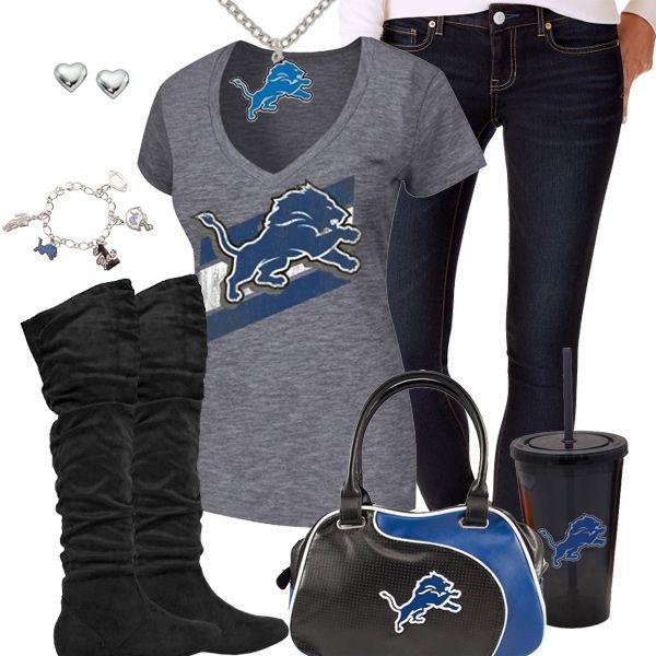 Detroit Lions Fashion - Trendy Chill Lions Fan