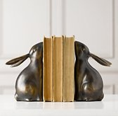 book-bunny-ends: Decor, Ideas, Rabbit Bookends, Bunnies Bookends, Stuff, Restoration Hardware Baby, Things, Products, Girls Rooms