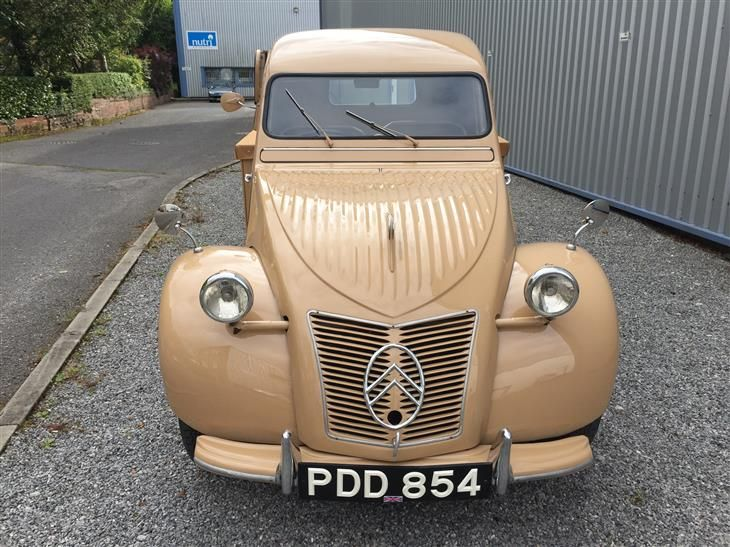 Classic 1955 CITROEN 2CV PICKUP. for sale in Derbyshire with Classic & Sports Car Classifieds, the UK's best online classic car classifieds.