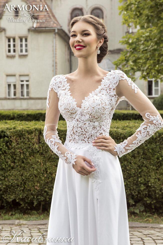 Wedding dress Casablanca Armonia Свадебное платье Касабланка Армония