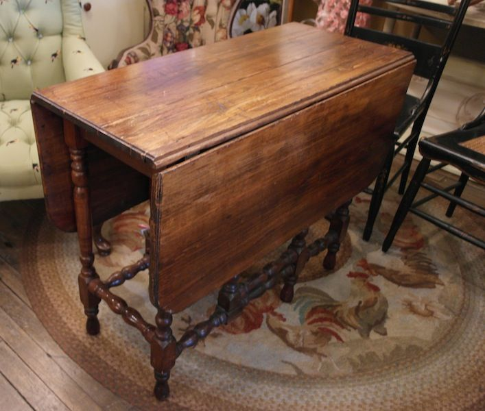vintage gateleg table just in