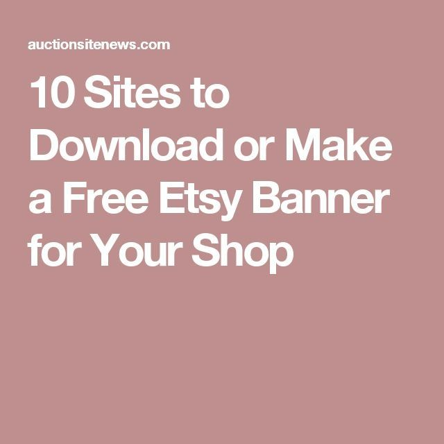 17 Best Ideas About Free Banner Maker On Pinterest | Free Banner with Etsy Banner Maker