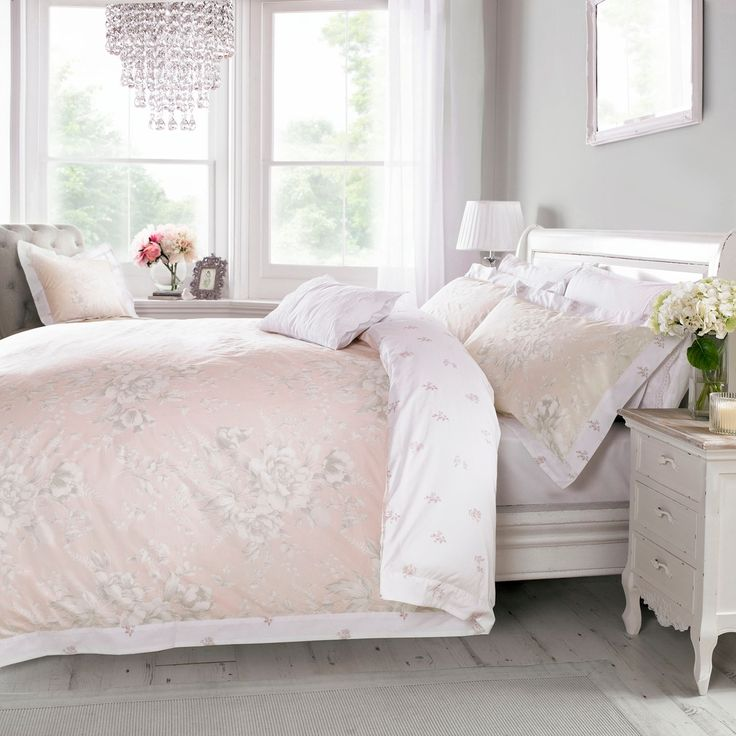 Holly Willoughby bedding from the Ruby Pink bed linen range with Free UK Delivery