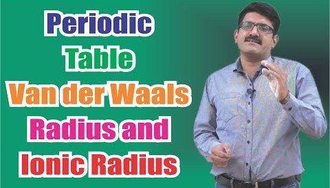 Download Music Periodic table van der Waals' radius and Ionic radius