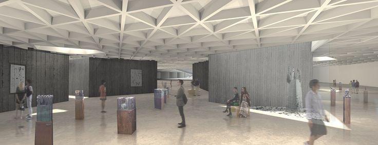 """Concurso """"Museo Humano"""" junto a Claudio Santander y Fernando Dowling"""
