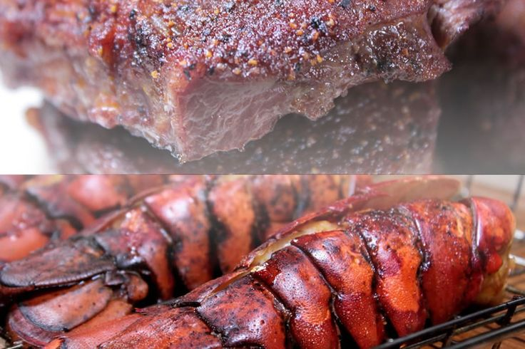 Nothing says, I love you like cooking a fancy meal on the smoker and my smoked steak and smoked lobster recipes put together are a great way to do just that.
