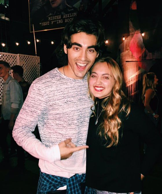Blake Michael attends Hollister's Holiday Carnival with Coast House at The Roxy Theatre on December 9, 2015 in West Hollywood, California.