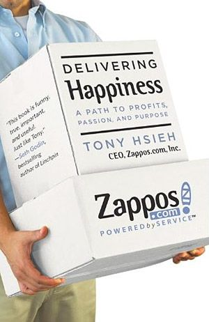 Delivering Happiness. An excellent book and great for business owners. It's a game-changer.: