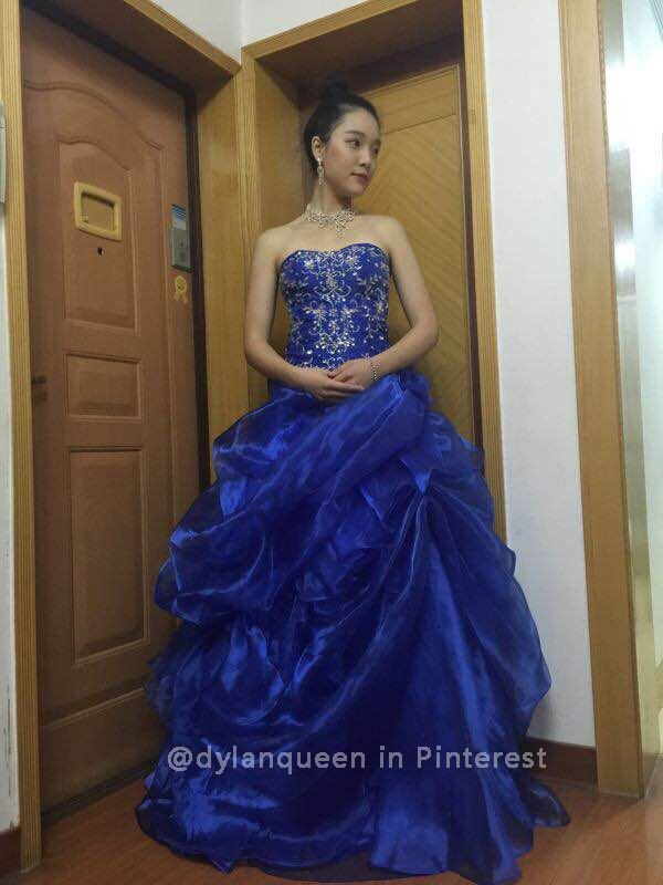 #DylanQueen Ball Gown Prom Dresses with Pickups - 2015 New Styles
