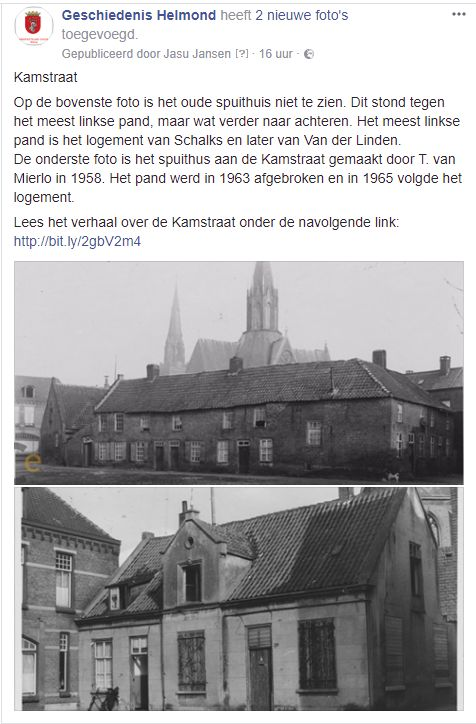 Als u doorklikt op de foto komt u op onze Facebook-pagina. Lees het verhaal over de Kamstraat: http://www.rhc-eindhoven.nl/artikel/626/Kamstraat