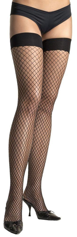 Thigh hi  Lycra Fishnet Flapper Accessories for Halloween Costume  #Morris