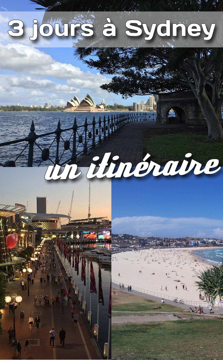 Quels endroits visiter si vous n'avez que 3 jours pour visiter #Sydney en #Australie? Voici les suggestons de australieqc.ca