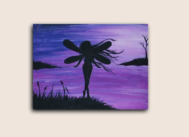 1000 images about art by studiosilvercreek on pinterest for Fairy painting easy