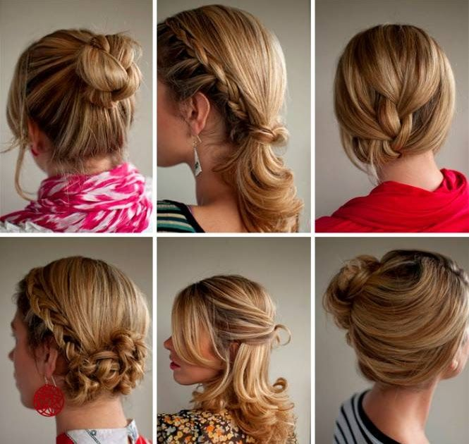 Easy Hairstyles For School Tied Up Haircuts Half Up And Half Down Bridal Hairstyles W In 2020 Easy Hairstyles For School Easy Updos For Medium Hair Tied Up Hairstyles