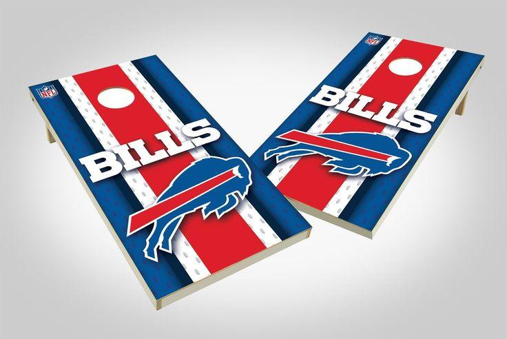 Buffalo Bills Cornhole Board Set - Wild