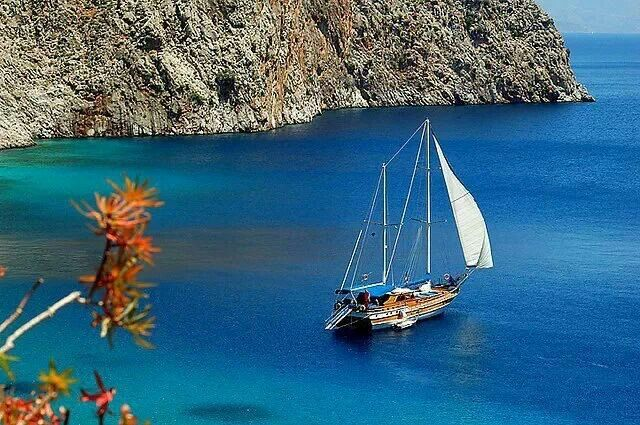 Sailing in Symi